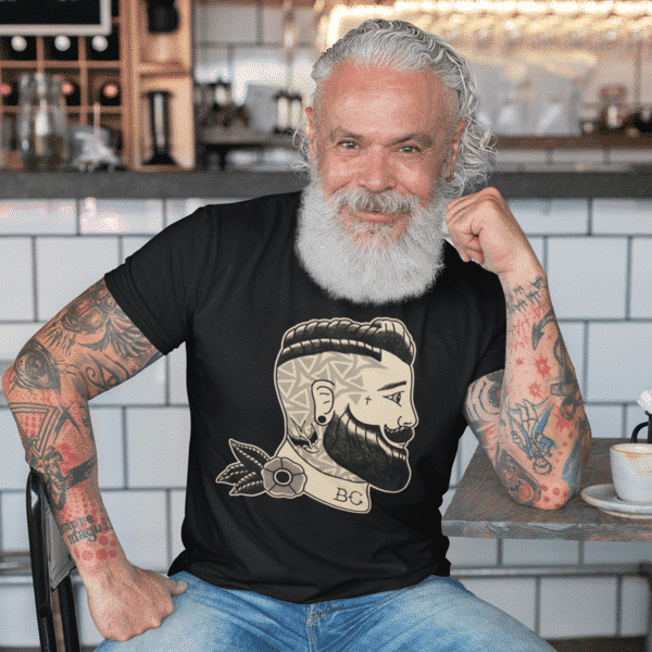 Vintage Beard Club T-Shirt