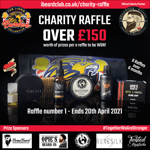 Charity Raffle 1 - 20 April