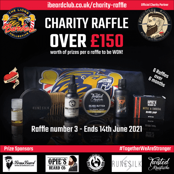 Charity Raffle 3- 14 June