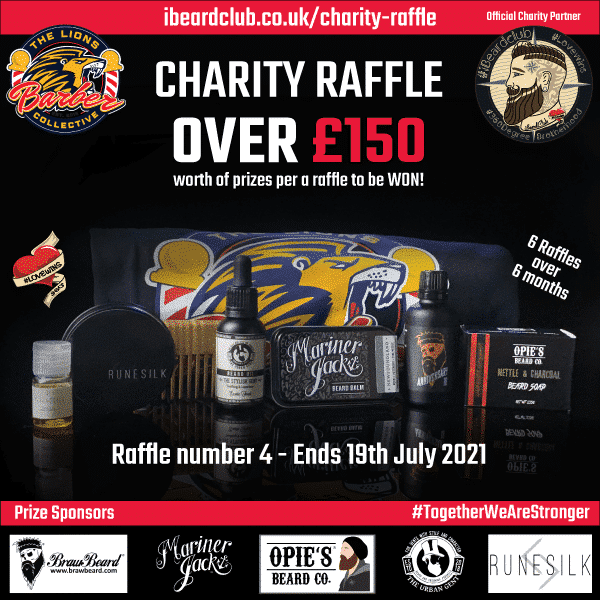 Charity Raffle 4 - 19 july